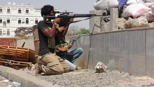 Houthis advancing into Yemen's Aden kill 12 civilians -residents