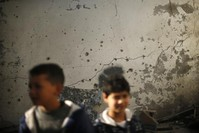 Israel shoots down Gaza rockets, responds with air strikes