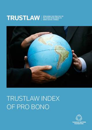 2015 TrustLaw Index of Pro Bono