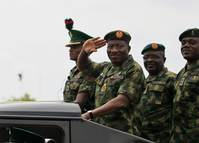 Nigerian president replaces military chiefs, loses ally