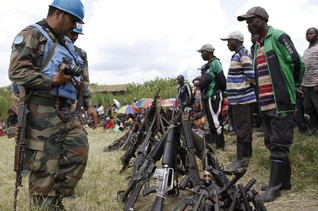 "U.N. brigade will need to ""neutralise"" Congo rebels- chief"