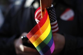 Top U.S. court appears on cusp of declaring right to gay marriage