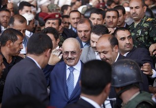 Former Yemeni president calls for political dialogue to end war