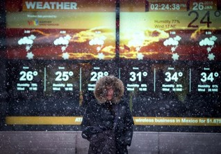 As blizzard skips New York, meteorologists ponder forecasts' power