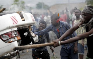 Hundreds of students seek refuge outside U.S. embassy in Burundi