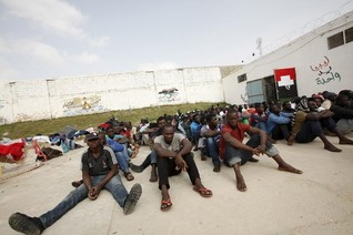 Libya's rival government says would confront EU attacks on traffickers