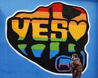 "Irish voters back gay marriage in ""social revolution"""
