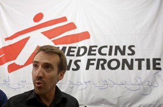 Aid group MSF to review work in Afghanistan after air strike