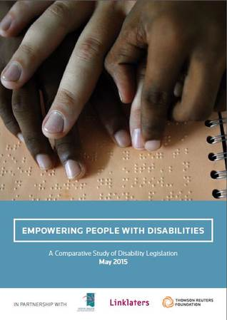 Empowering People with Disabilities - A Comparative Study of Disability Legislation