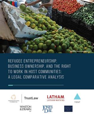 Refugee entrepreneurship, business ownership, and the right to work in host communities: A legal comparative analysis