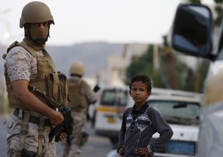 Three bridegrooms among 25 killed in Yemen rocket strike - residents