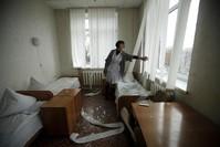 Two civilians killed in shelling in east Ukraine rebel city