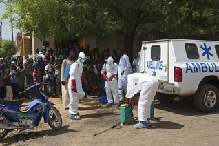 Mali confirms eighth Ebola case, monitoring 271 people