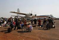 Muslim flight from CAR leaves broken homes, swamps UN