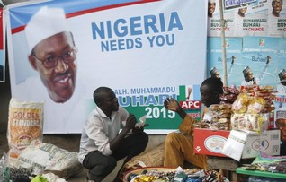 Nigeria's Buhari vows to end graft, insecurity, inequality