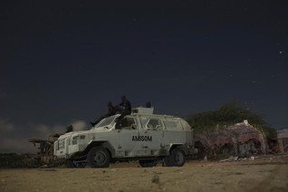 Somali rebels say they killed 14 in attack on AU base