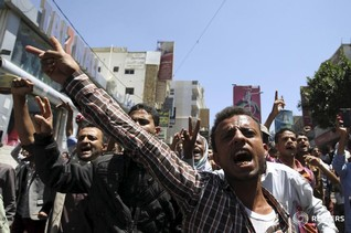 Yemen Houthi rebels advance despite Saudi-led air strikes