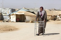 Elderly and disabled Syrian refugees fall through cracks