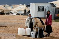 Tensions surge in Jordan as refugees compete for scarce water