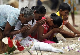Asia remembers devastating 2004 tsunami with tears and prayers
