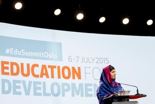 "Malala says she'll remain the ""voice of children"" as she turns 18"