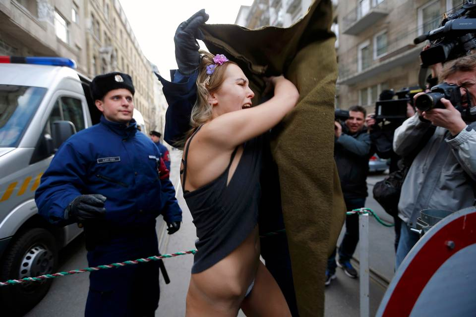 Ukrainian Women Protest 41