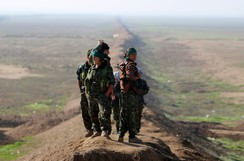Female fighters of the Kurdish People's Protection Units