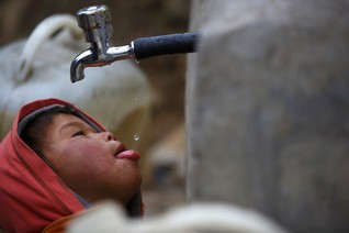 Almost 2 billion people use water contaminated by faeces