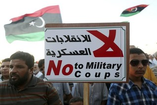 Libya's rival parliament says open to U.N.-sponsored peace talks