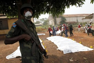 U.N. peacekeeper killed in clashes in C. African Republic - spokesman