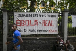 Health teams scour Sierra Leone capital in Ebola drive