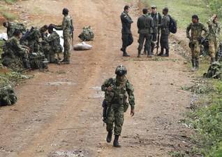 Colombian rebels blame government for war's rising death toll
