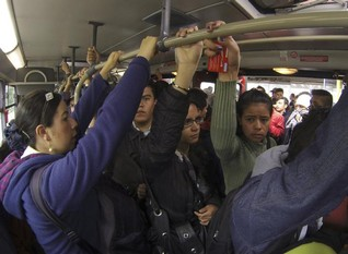 EXCLUSIVE-POLL: Latin American women disgusted by sex pests on public transport