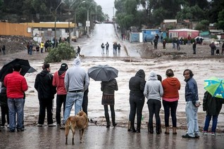 Four dead in Chile floods, military rescues stranded residents