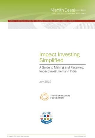 Impact Investing Simplified: A guide to making and receiving impact investments in India