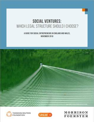 Social Ventures: Which legal structure should I choose?
