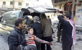 Syrian air strike on rebel area kills more than 40 - monitor