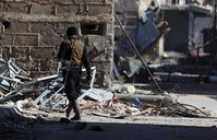 Syrian opposition accuses govt forces of poison gas attack