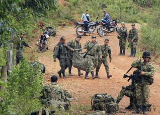 Colombia to resume bombing rebels after deadly ambush