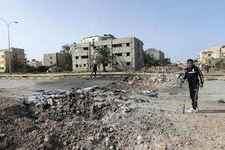 Rockets kill two, wound 30 in Libya's Benghazi