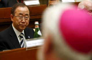 Vatican and U.N. team up on climate change against sceptics