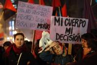 Chile's Bachelet takes on conservatives with plan to ease abortion