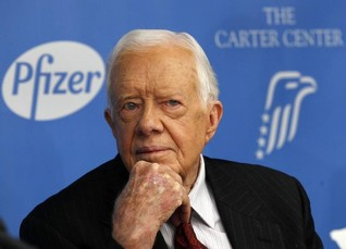 INTERVIEW-Jimmy Carter: still causing a storm in his fight for women