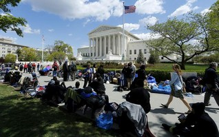 Stage set for landmark U.S. Supreme Court gay marriage arguments