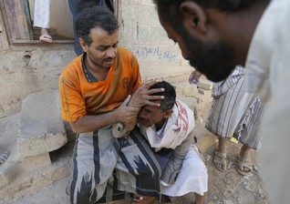 Air strikes kill civilians in Yemeni capital