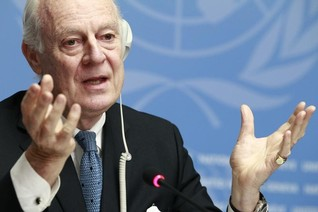 "Ex-adviser says U.N. Syria envoy ""out of his depth"" - report"