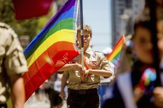 Boy Scouts lift blanket ban on gay adult leaders, employees
