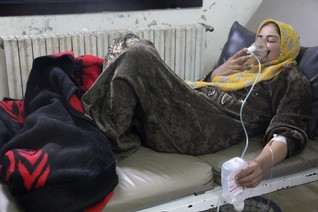 Syria gas attack video moves UN Security Council envoys to tears
