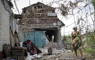 Landmine kills five Ukrainian soldiers in separatist east