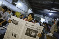 Myanmar denies journalist restrictions tied to Rohingya news